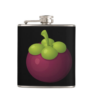 Glitch Food mangosteen Hip Flask