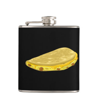 Glitch Food meat tetrazzini Hip Flask