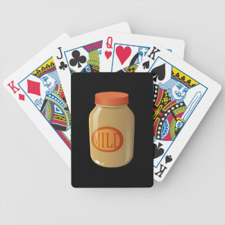 Glitch Food mild sauce Bicycle Playing Cards