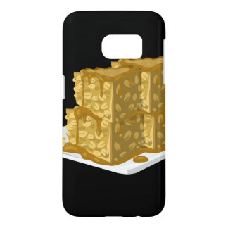 Glitch Food oaty cake Samsung Galaxy S7 Case