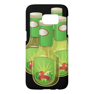 Glitch Food oily dressing Samsung Galaxy S7 Case