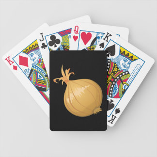 Glitch Food onion Bicycle Playing Cards
