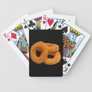 Glitch Food onion rings Bicycle Playing Cards