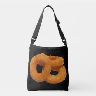 Glitch Food onion rings Crossbody Bag