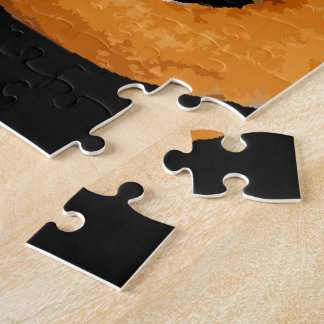 Glitch Food onion rings Jigsaw Puzzle