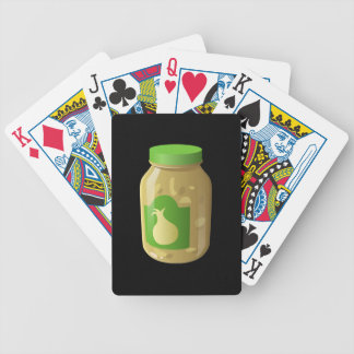 Glitch Food onion sauce Bicycle Playing Cards