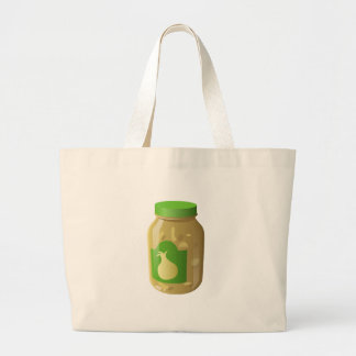 Glitch Food onion sauce Large Tote Bag