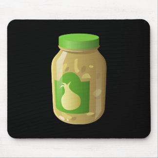 Glitch Food onion sauce Mouse Pad