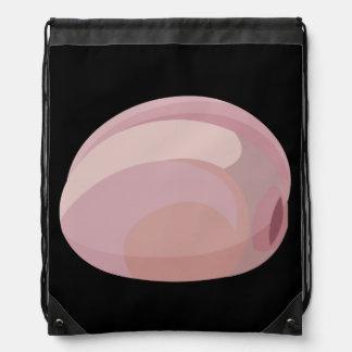 Glitch Food oysters prairie Drawstring Bag