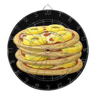 Glitch Food papl upside down pizza Dartboard