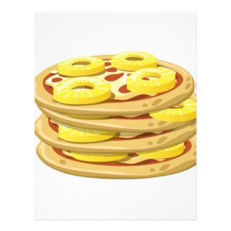 Glitch Food papl upside down pizza Letterhead