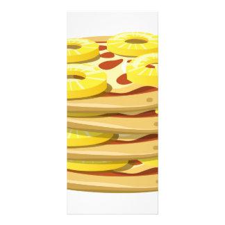 Glitch Food papl upside down pizza Rack Card