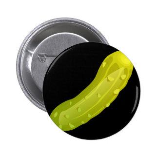 Glitch Food pickle 2 Inch Round Button