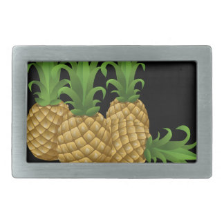 Glitch Food pineapple Belt Buckle