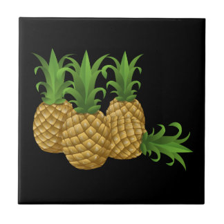 Glitch Food pineapple Tile
