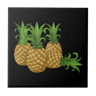 Glitch Food pineapple Tile