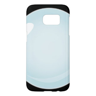 Glitch Food plain bubble Samsung Galaxy S7 Case