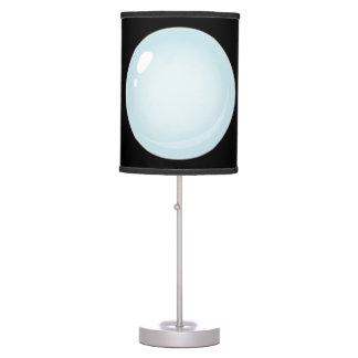 Glitch Food plain bubble Table Lamp