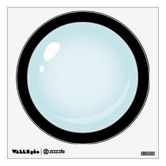 Glitch Food plain bubble Wall Decal