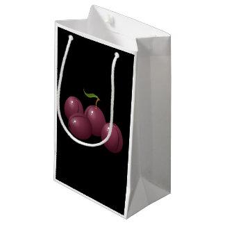 Glitch Food plum Small Gift Bag