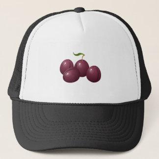 Glitch Food plum Trucker Hat