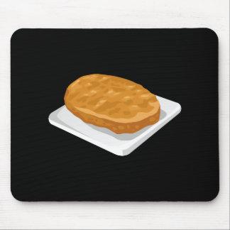 Glitch Food potato patty Mouse Pad