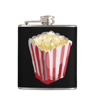Glitch Food potcorn Hip Flask