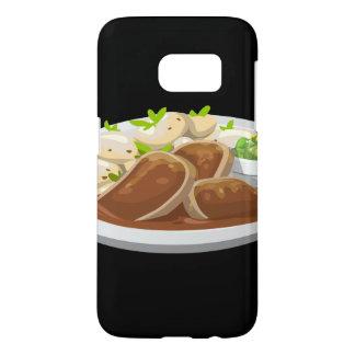Glitch Food potians feast Samsung Galaxy S7 Case