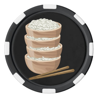 Glitch Food proper rice Poker Chips