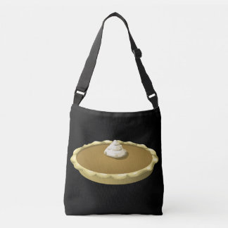Glitch Food pumpkin pie Crossbody Bag