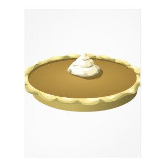 Glitch Food pumpkin pie Letterhead