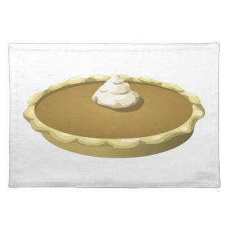 Glitch Food pumpkin pie Placemat