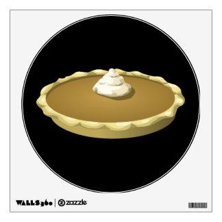 Glitch Food pumpkin pie Wall Sticker