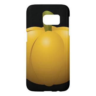 Glitch Food pumpkin Samsung Galaxy S7 Case