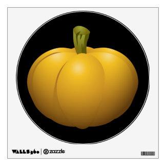 Glitch Food pumpkin Wall Sticker