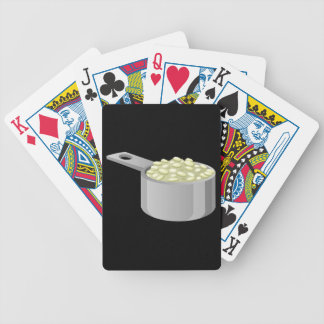 Glitch Food rice Bicycle Playing Cards