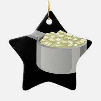 Glitch Food rice Ceramic Ornament