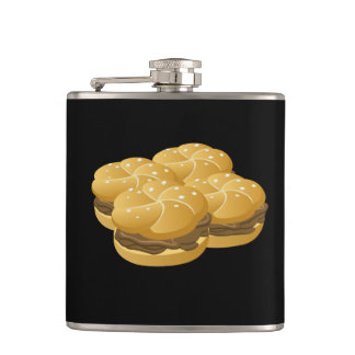 Glitch Food sammich Hip Flask