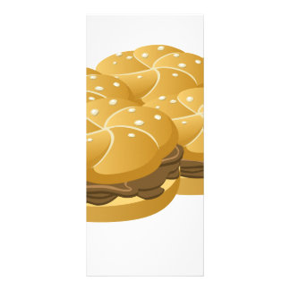 Glitch Food sammich Rack Card
