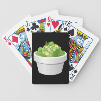 Glitch Food simple slaw Bicycle Playing Cards