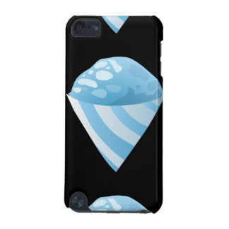 Glitch Food sno cone blue iPod Touch (5th Generation) Covers