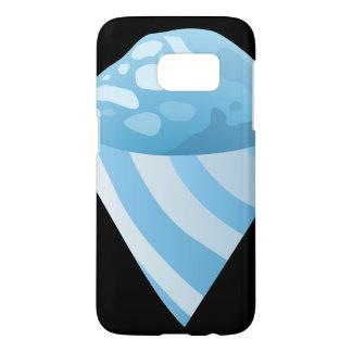 Glitch Food sno cone blue Samsung Galaxy S7 Case