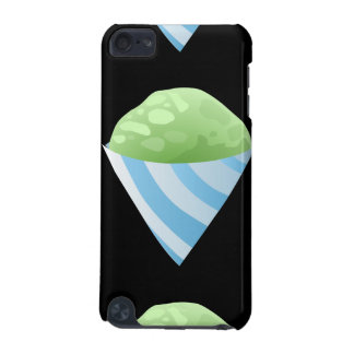 Glitch Food sno cone green iPod Touch (5th Generation) Covers