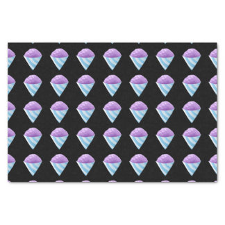 Glitch Food sno cone purple Tissue Paper