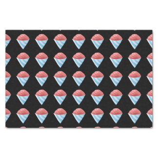 Glitch Food sno cone red Tissue Paper