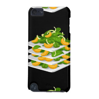 Glitch Food spinach salad iPod Touch (5th Generation) Cases
