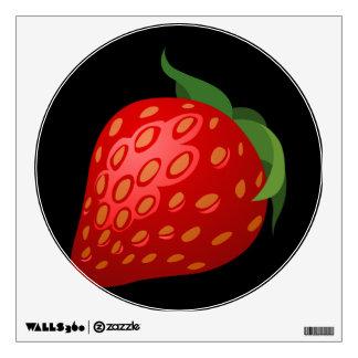 Glitch Food strawberry Wall Decal