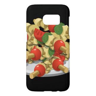 Glitch Food super veggie kebabs Samsung Galaxy S7 Case