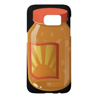 Glitch Food sweet n sour sauce Samsung Galaxy S7 Case