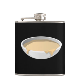 Glitch Food swing batter Hip Flask